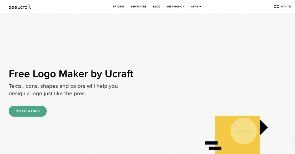 Ucraft logo maker 1024x535 - A Guide to Make Your Own Logos Through AI Based Logo Maker Tools