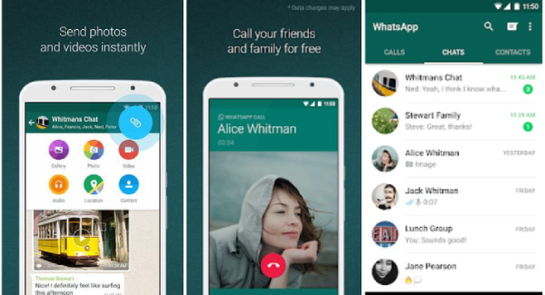 whatsappp 1 - Top 8 Popular Text Messaging Apps for IOS and Android