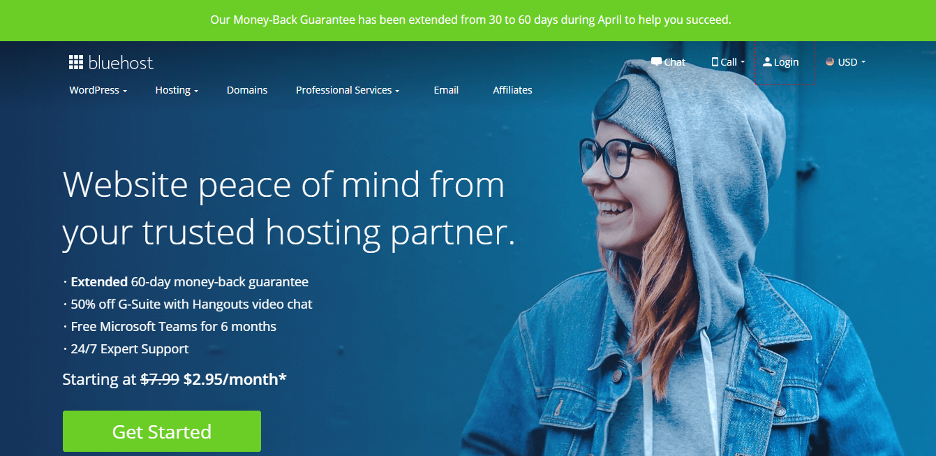 Bluehost - Top 10 Web Hosting Companies in 2020 | Detailed Review