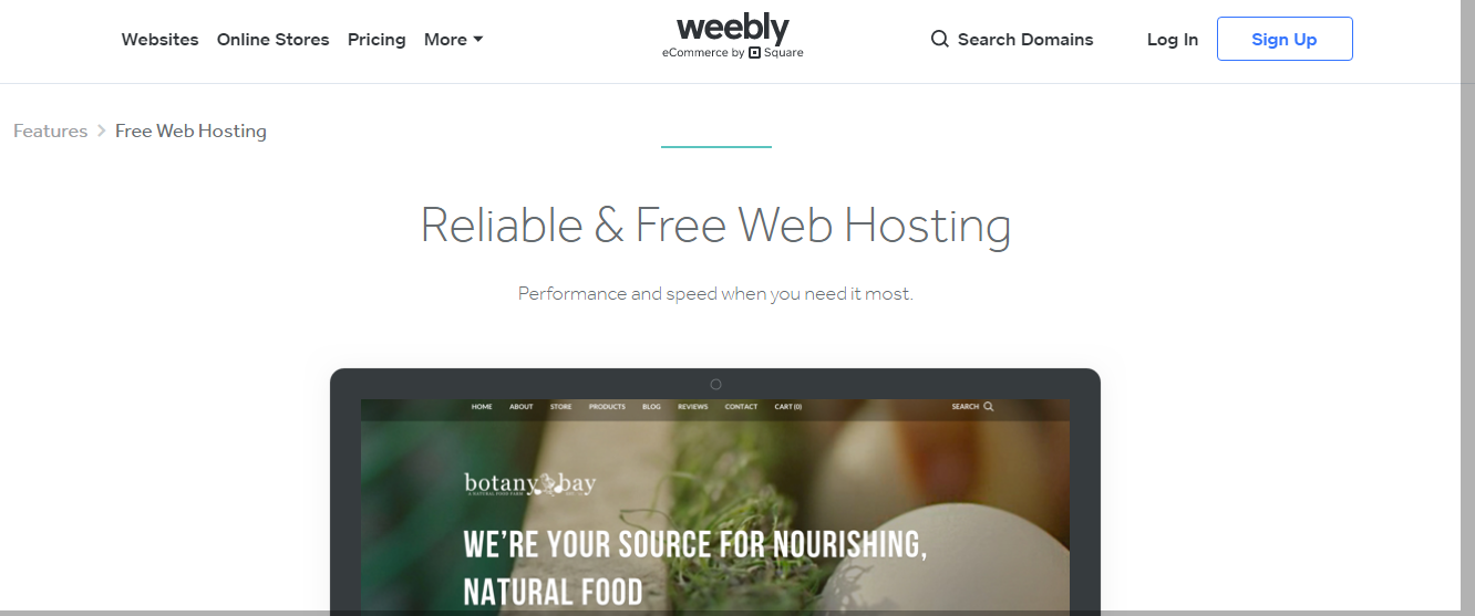 Weebly - Top 10 Web Hosting Companies in 2020 | Detailed Review