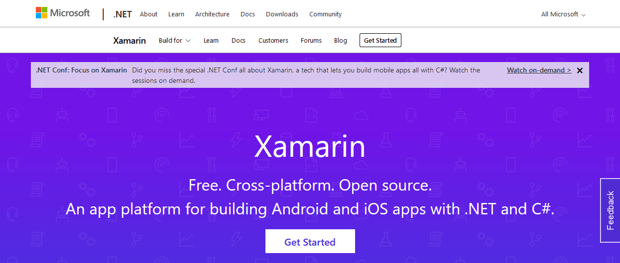 Xamarin - 5 Best Cross-Platform Mobile App Development Tools