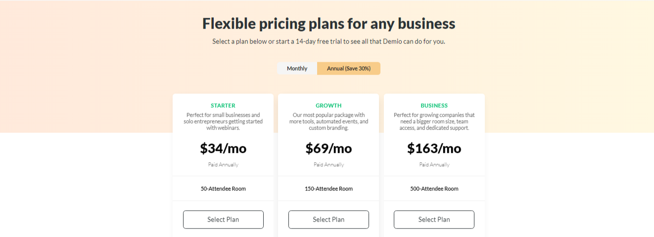 Demio Pricing - 14 Best Webinar Software Tools in 2020 (Ultimate Guide for Free)