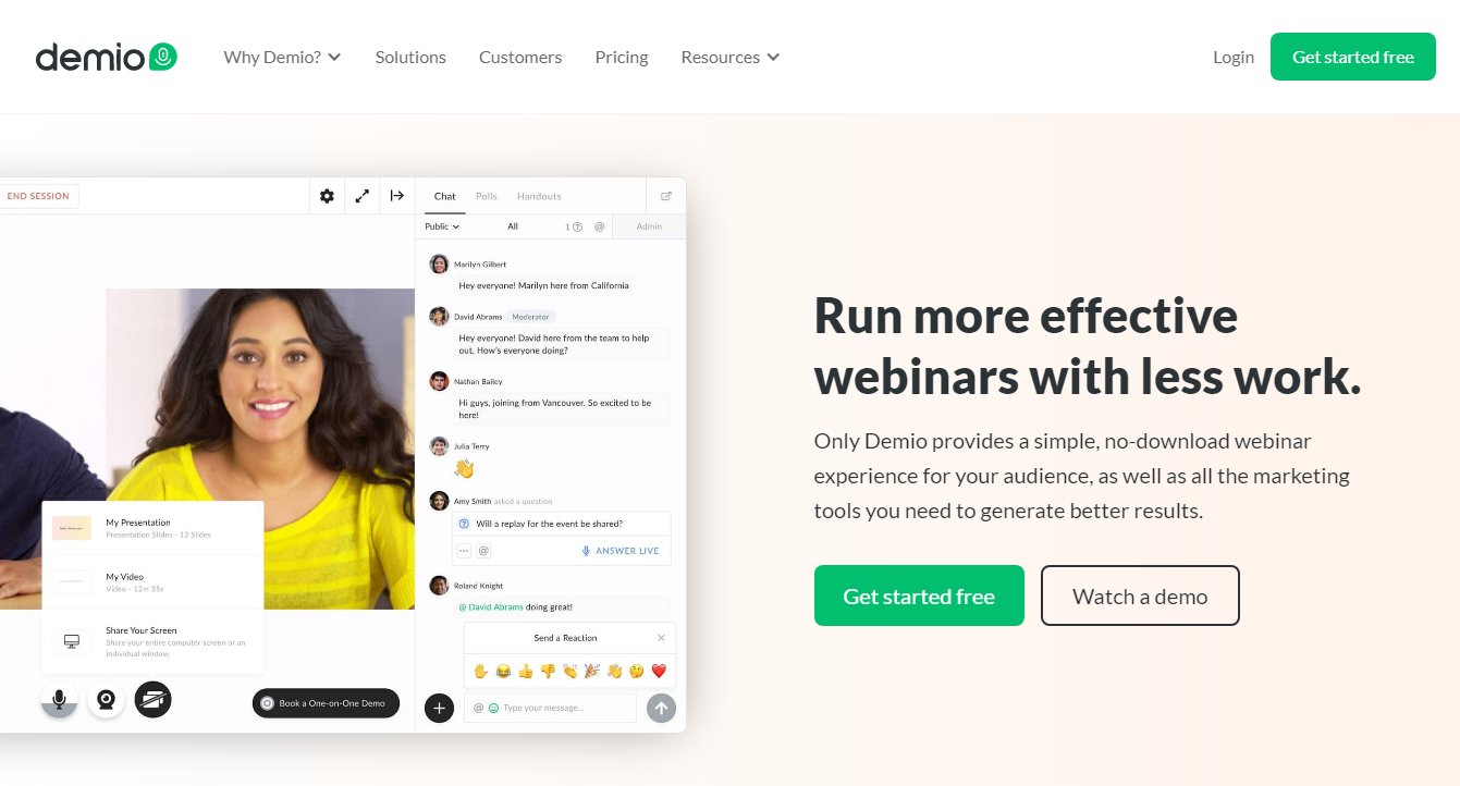 Demio - Best 8 Webinar Software Tools in 2020 (Ultimate Guide for Free)