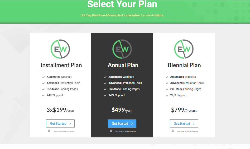 EverWebinar pricing - 14 Best Webinar Software Tools in 2020 (Ultimate Guide for Free)
