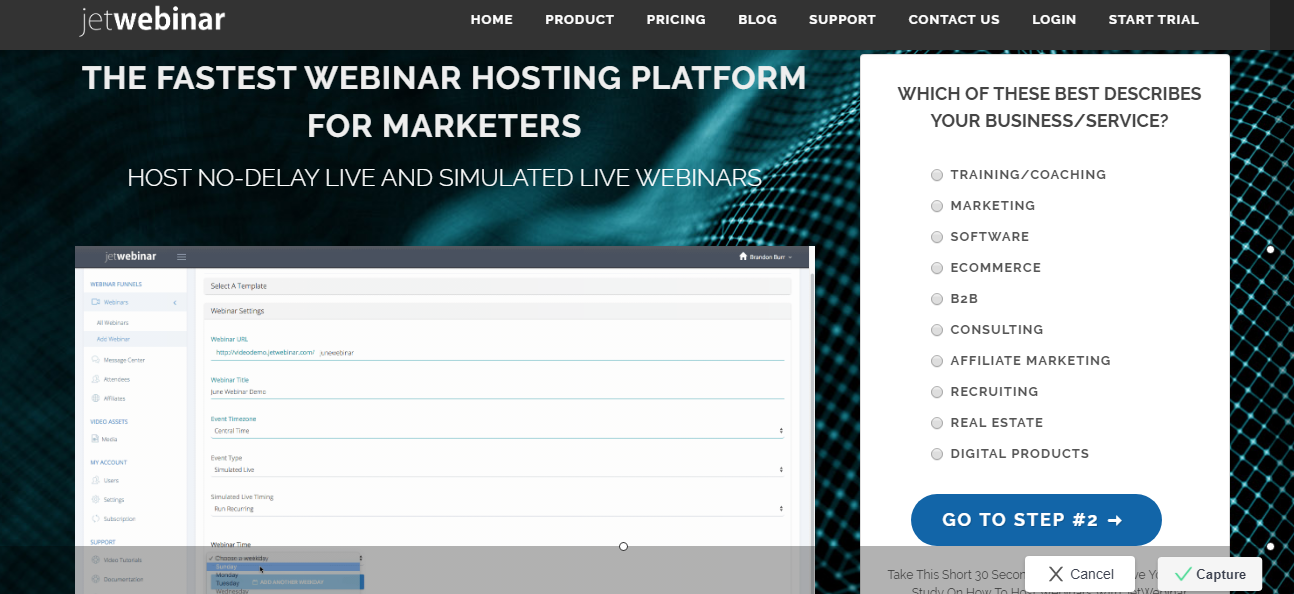 JetWebinar - 14 Best Webinar Software Tools in 2020 (Ultimate Guide for Free)
