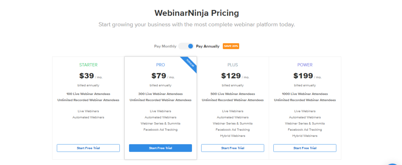 WebinarNinja Pricing - Best 8 Webinar Software Tools in 2020 (Ultimate Guide for Free)
