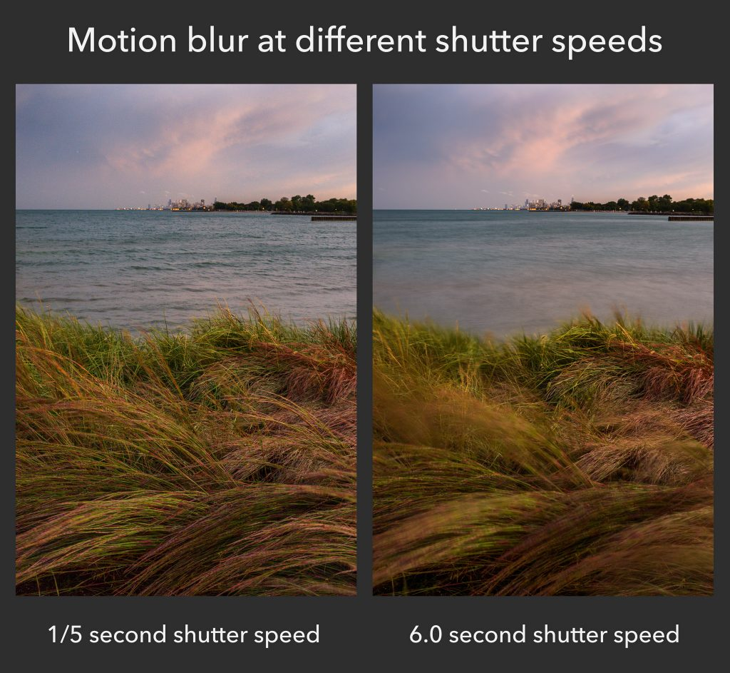 Motion blur comparison 1024x943 - How to use Pro Camera Mode on Android