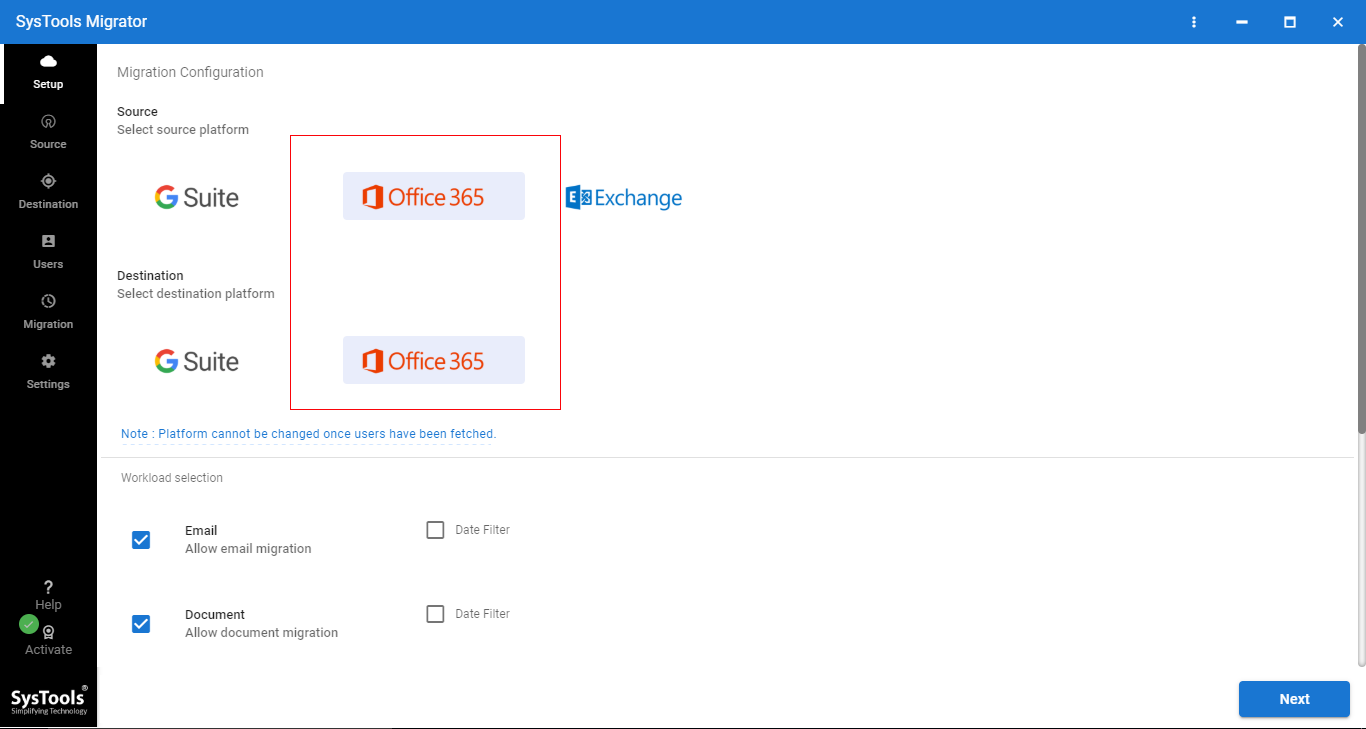 1 - Step-by-step Solution to Perform Office 365 Tenant to Office 365 Tenant Migration