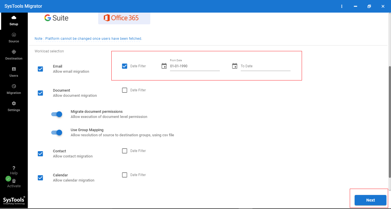 4 - Step-by-step Solution to Perform Office 365 Tenant to Office 365 Tenant Migration