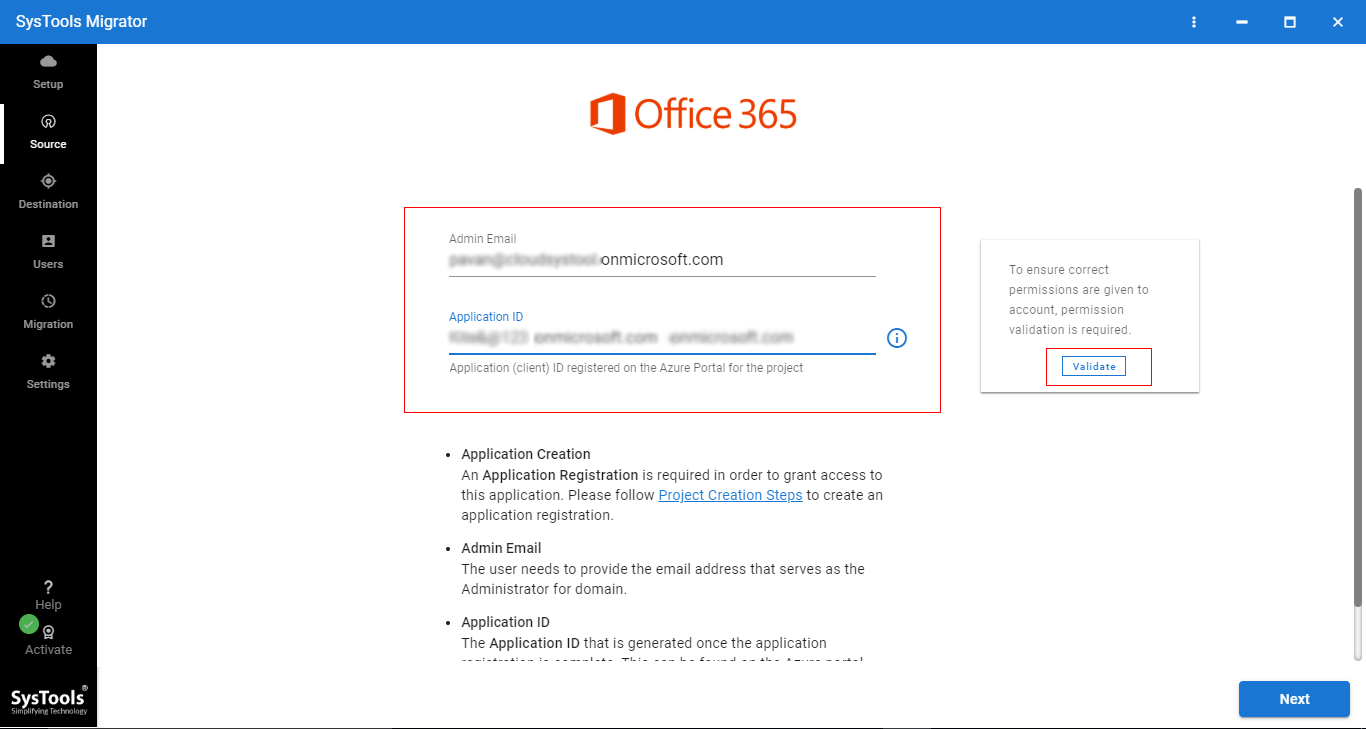 5 - Step-by-step Solution to Perform Office 365 Tenant to Office 365 Tenant Migration