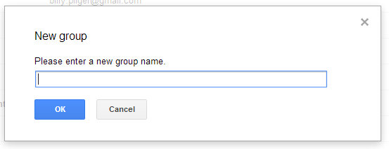 Building a Group List in Gmail 2 - How to Create a Mailing  List or Group in Gmail for Business Use
