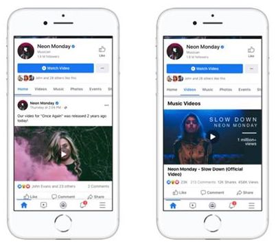fb music - Facebook to launch Officially Licensed Music Videos in the US next month