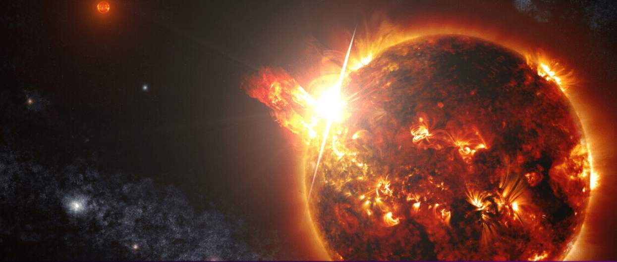 New AI tool that detects star flares could help us find habitable Planets